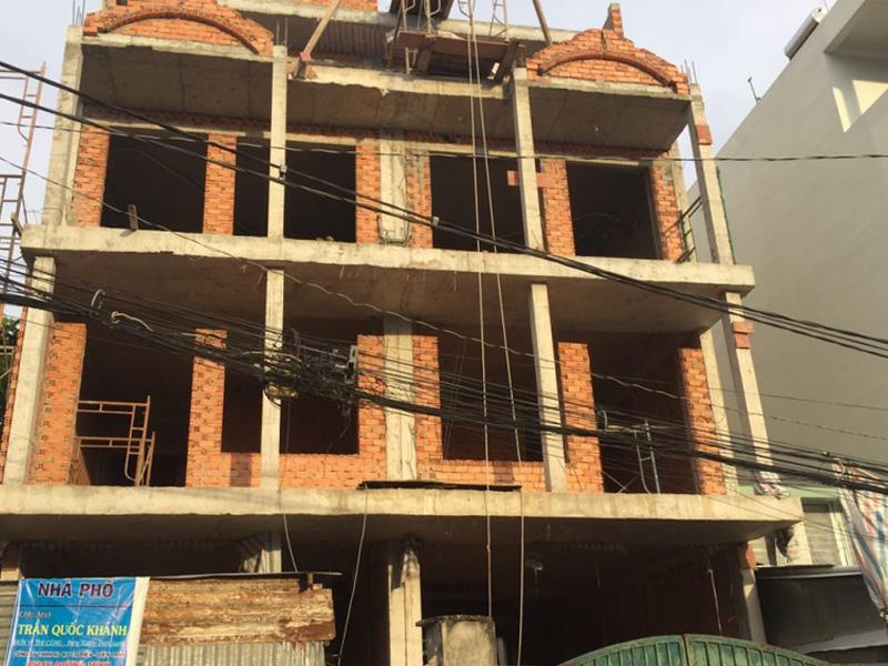 Thi công xây dựng nhà phố uy tín tại TPHCM