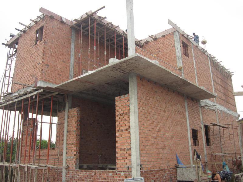Các hạng mục cần có trong bảng tiến độ thi công nhà phố